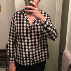 Madewell Tops - Madewell Flannel Shirt